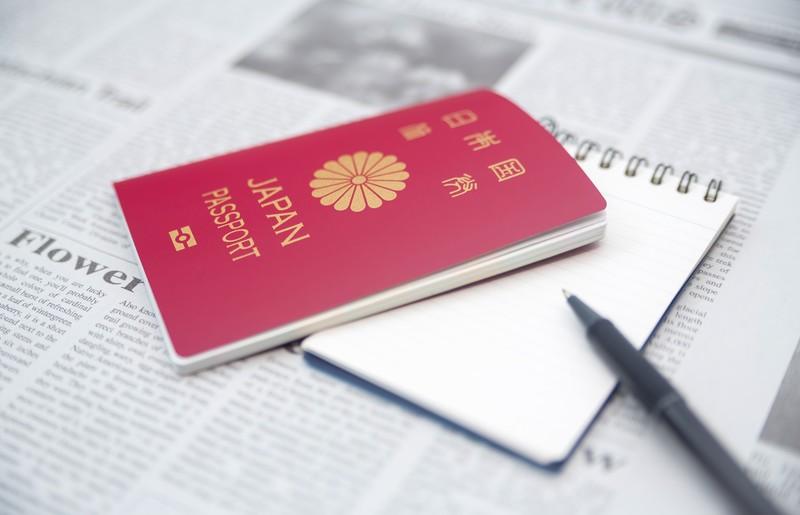 パスポートをなくした。
