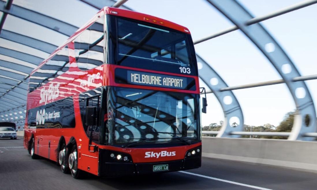 メルボルン空港から市内への一番良い移動手段!