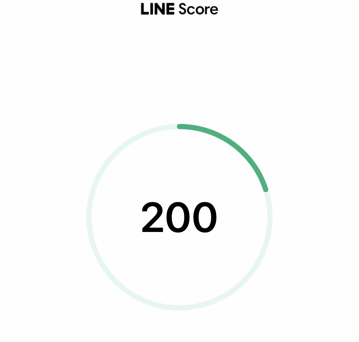『LINE Score』信用を数値化。使ってみた。